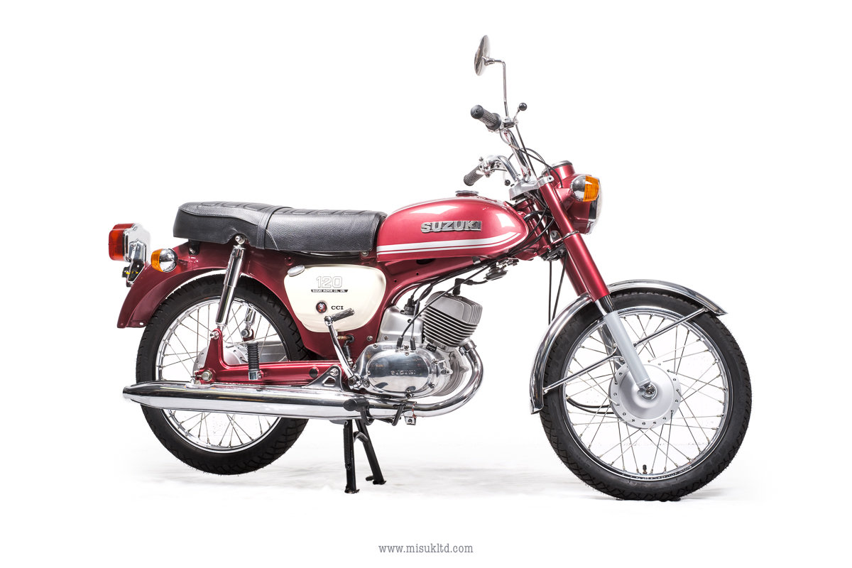 1976 Best in the UK ? Suzuki B120 For Sale (picture 8 of 8)
