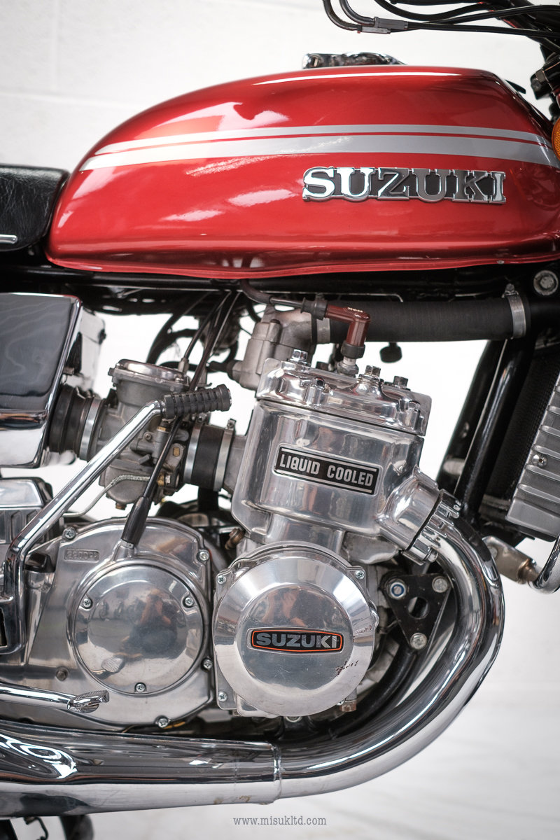 1975 Smokin' Suzuki doesn't get much better than this For Sale (picture 6 of 12)