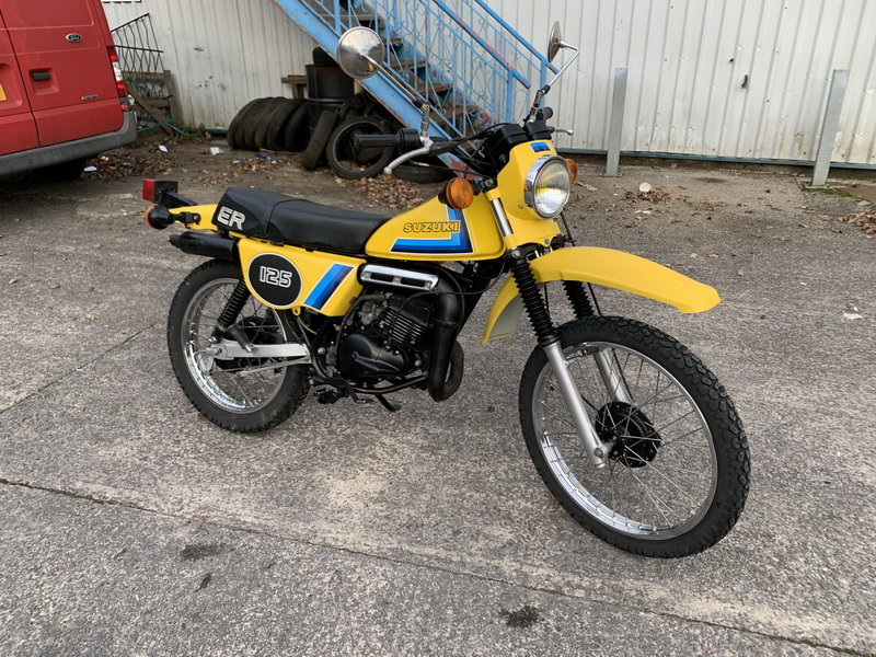 1979 SUZUKI ER 125 ONE OF THE BEST AROUND For Sale (picture 7 of 12)