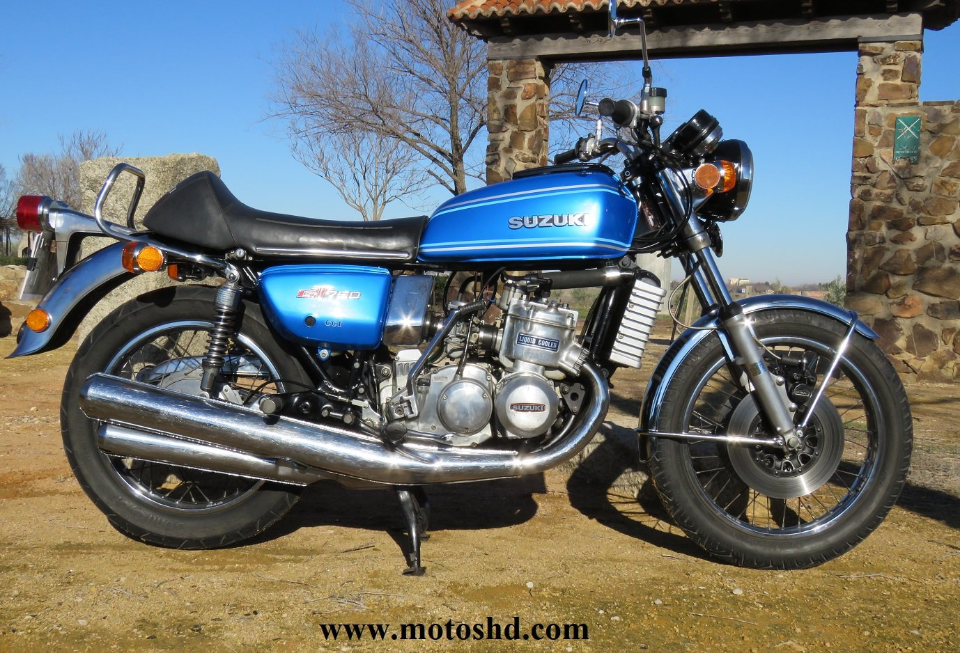 Suzuki GT 750 A from 1976 For Sale (picture 1 of 12)