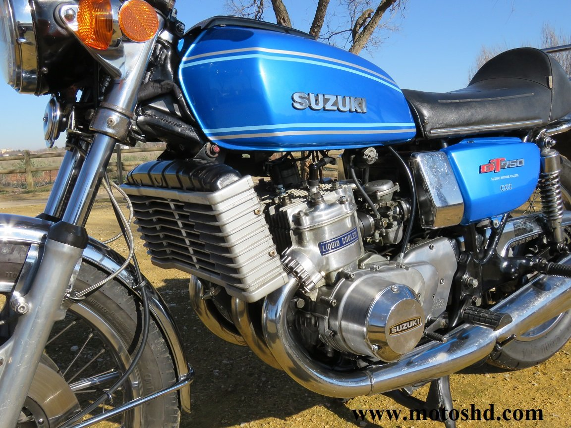 Suzuki GT 750 A from 1976 For Sale (picture 4 of 12)