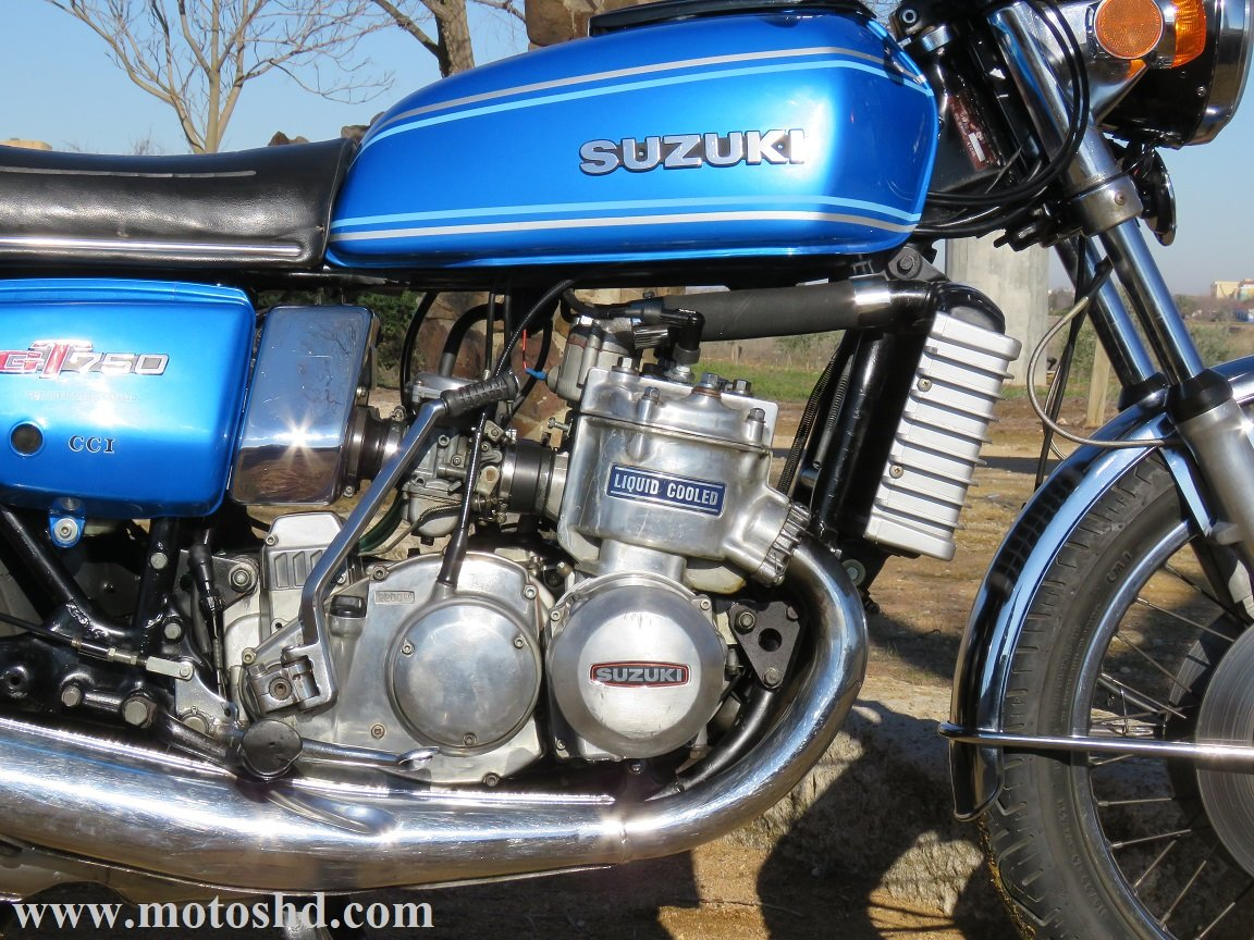 Suzuki GT 750 A from 1976 For Sale (picture 7 of 12)