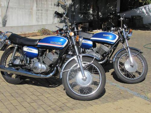 2 Suzuki's T250 (1972) For Sale (picture 1 of 6)