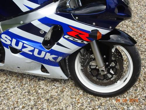 2003 GSXR 600 K3  Classic Blue & White - Excellent For Sale (picture 3 of 6)