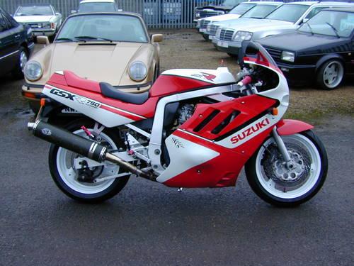 1988 SUZUKI GSX R 750  For Sale (picture 2 of 6)