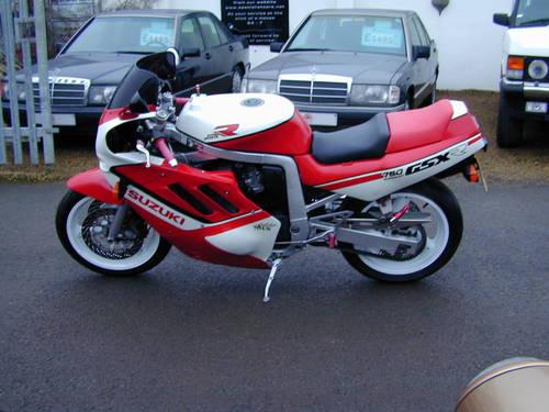 1988 SUZUKI GSX R 750  For Sale (picture 5 of 6)