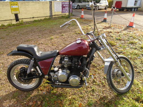 1978 XS 1100 chopper bobber For Sale (picture 1 of 6)