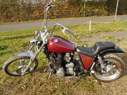 1978 XS 1100 chopper bobber For Sale (picture 2 of 6)
