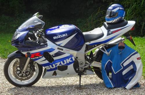 2003 GSXR 600 K3  Classic Blue & White - Excellent For Sale (picture 1 of 6)