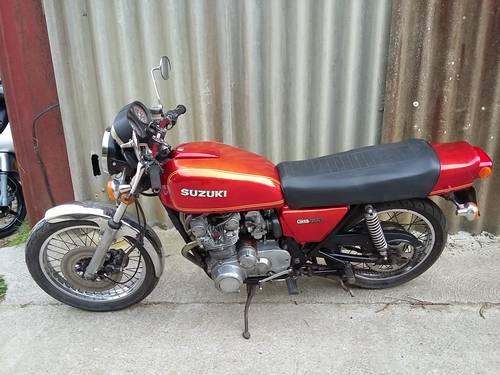 1977 Suzuki Gs550 Classic Air Cooled 4 Cylinder Bike 163 1495