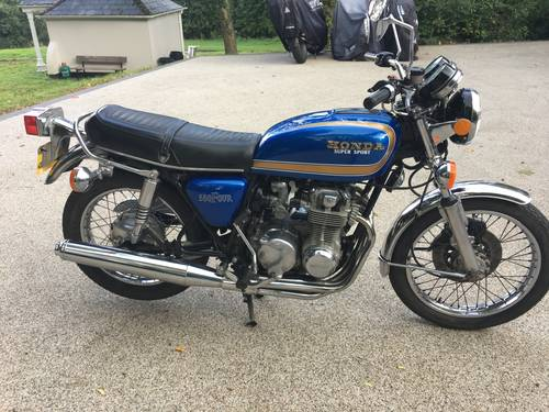 1975 Lovely CB550F Supersport SOLD (picture 1 of 6)