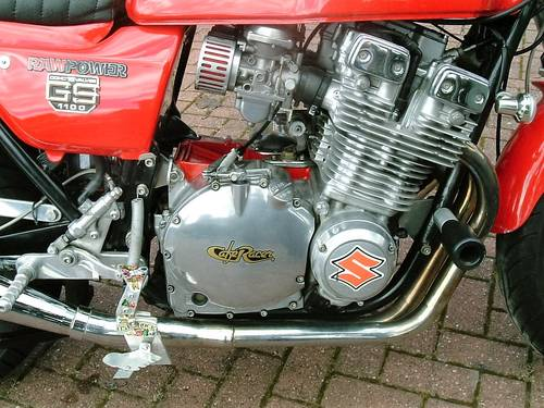 1981 One Off Suzuki GS 1100 Cafe Racer For Sale (picture 4 of 6)