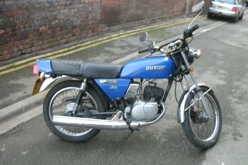 1980 Suzuki GP125 classic sports 125cc. For Sale (picture 1 of 5)