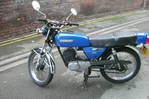 1980 Suzuki GP125 classic sports 125cc. For Sale (picture 2 of 5)