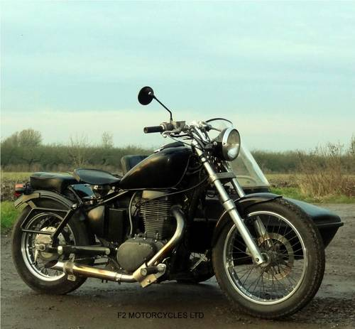 1999 Suzuki LS650 Savage and Sidecar, modified, Rat, Brat, Custom SOLD (picture 1 of 6)