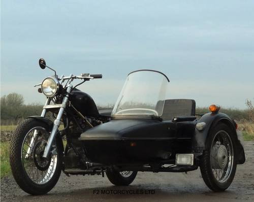 1999 Suzuki LS650 Savage and Sidecar, modified, Rat, Brat, Custom SOLD (picture 2 of 6)