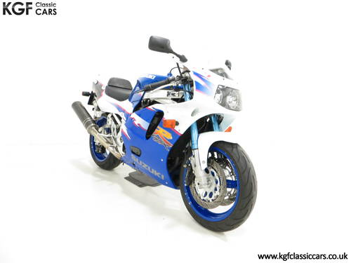 1994 An Ultra-Rare Homologation Suzuki GSX-R750 SP SOLD (picture 1 of 6)