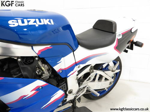 1994 An Ultra-Rare Homologation Suzuki GSX-R750 SP SOLD (picture 6 of 6)