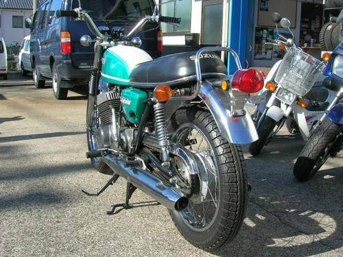 SUZUKI T500 (1971) 500cc  from JAPAN For Sale (picture 4 of 5)