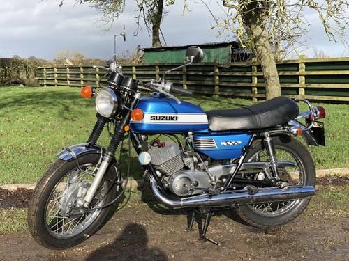Suzuki T350 Rebel 1972. Older Restoration SOLD (picture 1 of 6)