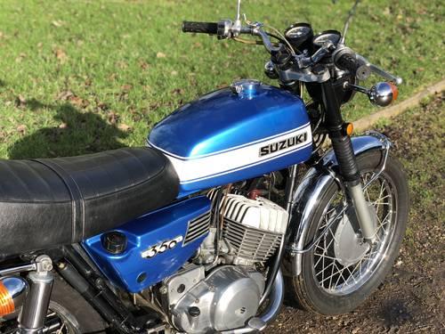 Suzuki T350 Rebel 1972. Older Restoration SOLD (picture 5 of 6)