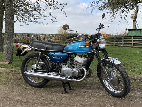 Suzuki T500 1973 UK Example SOLD (picture 1 of 6)