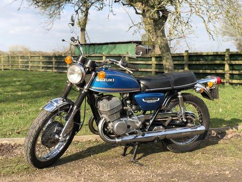 Suzuki T500 1973 UK Example SOLD (picture 2 of 6)