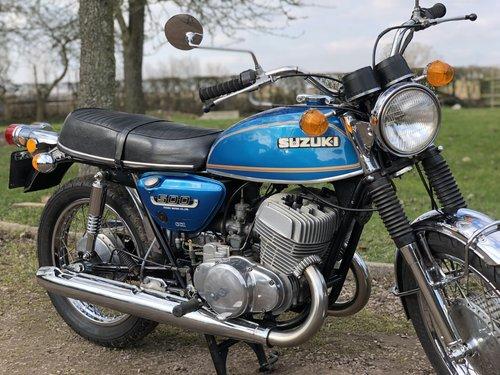 Suzuki T500 1973 UK Example SOLD (picture 3 of 6)