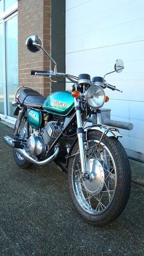 Suzuki T250 HUSTLER 1971-J **14,329 MILES** SOLD (picture 2 of 6)