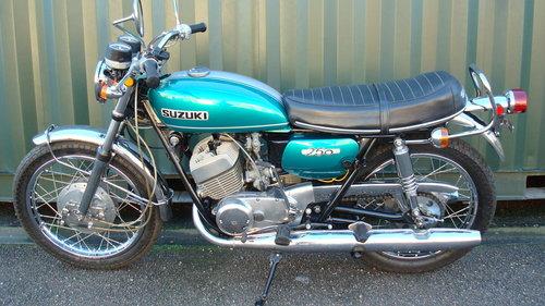 Suzuki T250 HUSTLER 1971-J **14,329 MILES** SOLD (picture 6 of 6)