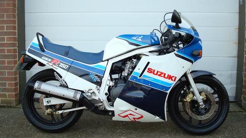Suzuki GSXR 750 G 1986-C **EXCELLENT,ORIGINAL**15200 miles