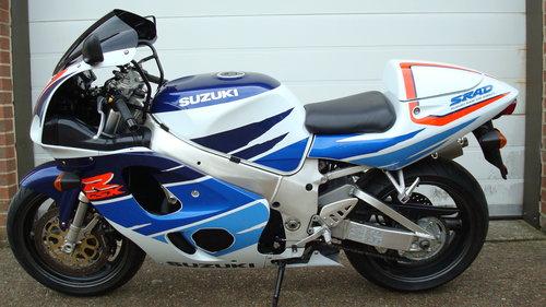 Suzuki GSXR 750 T 1996-P **7800 miles** For Sale (picture 6 of 6)