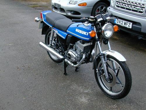 1981 SUZUKI GT 200 X5 For Sale (picture 1 of 6)