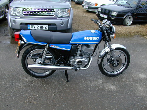 1981 SUZUKI GT 200 X5 For Sale (picture 2 of 6)