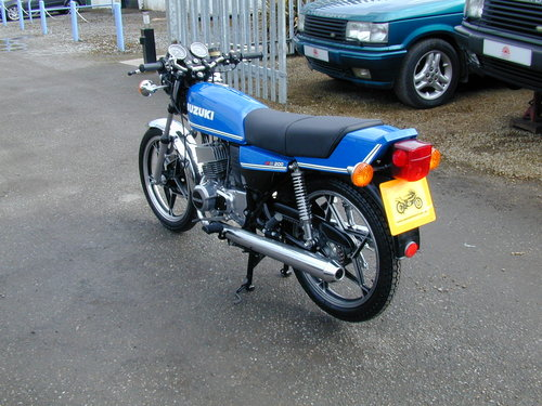 1981 SUZUKI GT 200 X5 For Sale (picture 4 of 6)