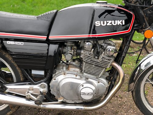Suzuki GS 450 Twin 1980 For Sale (picture 4 of 6)