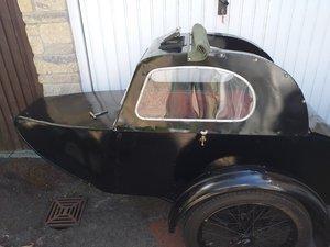 RARE Vintage Watsonian Albion Single Seat Sidecar