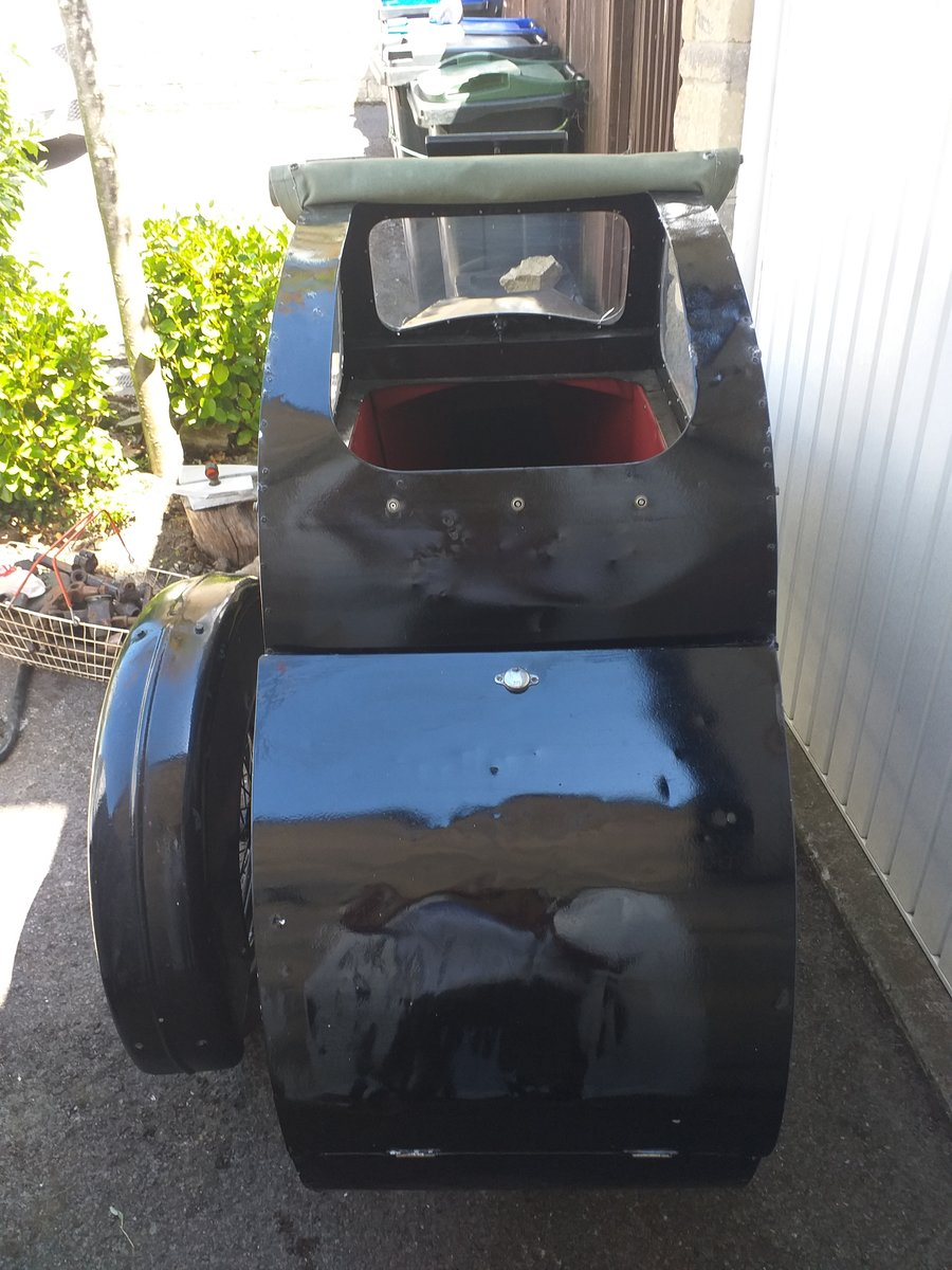 1950 RARE Vintage Watsonian Albion Single Seat Sidecar For Sale (picture 2 of 6)