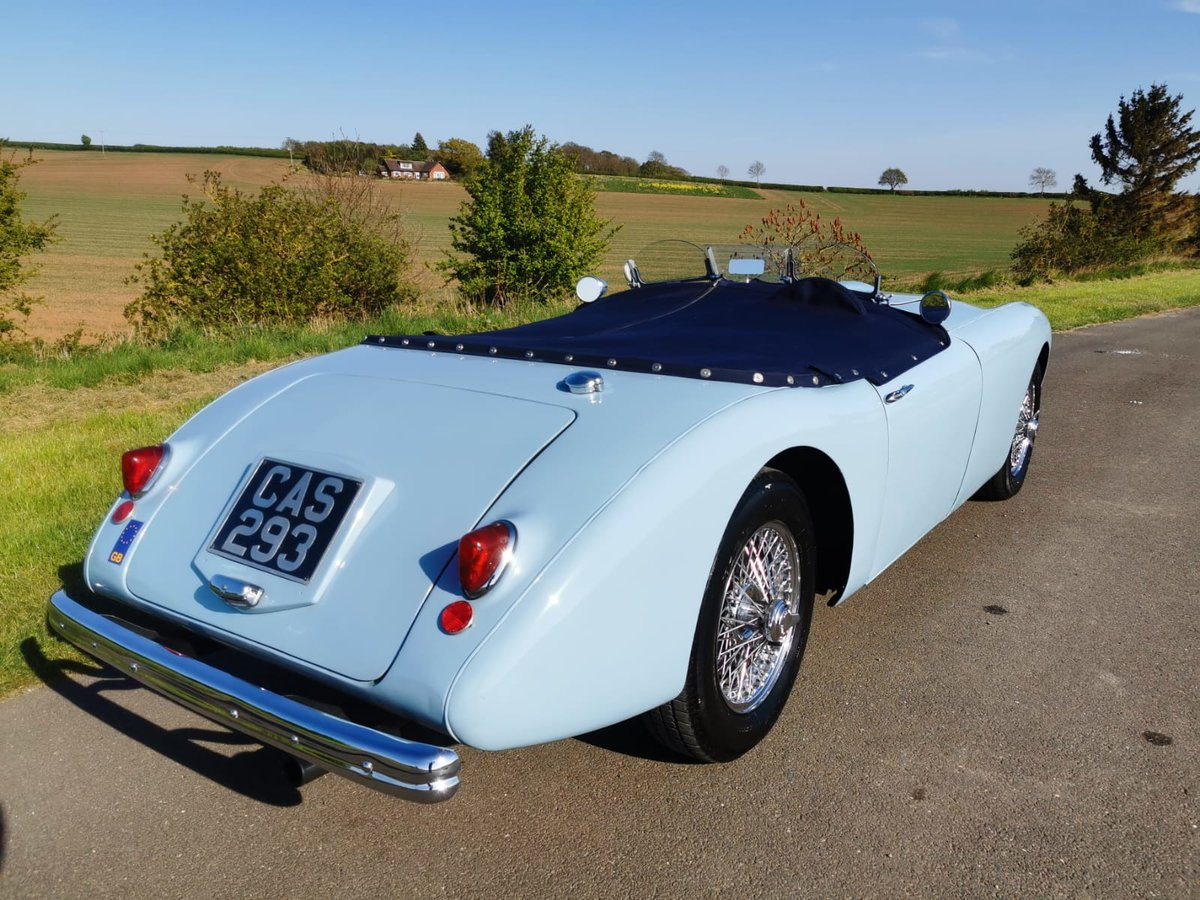 """1954 Swallow Doretti Manual O/D """"fast road""""  For Sale (picture 2 of 6)"""