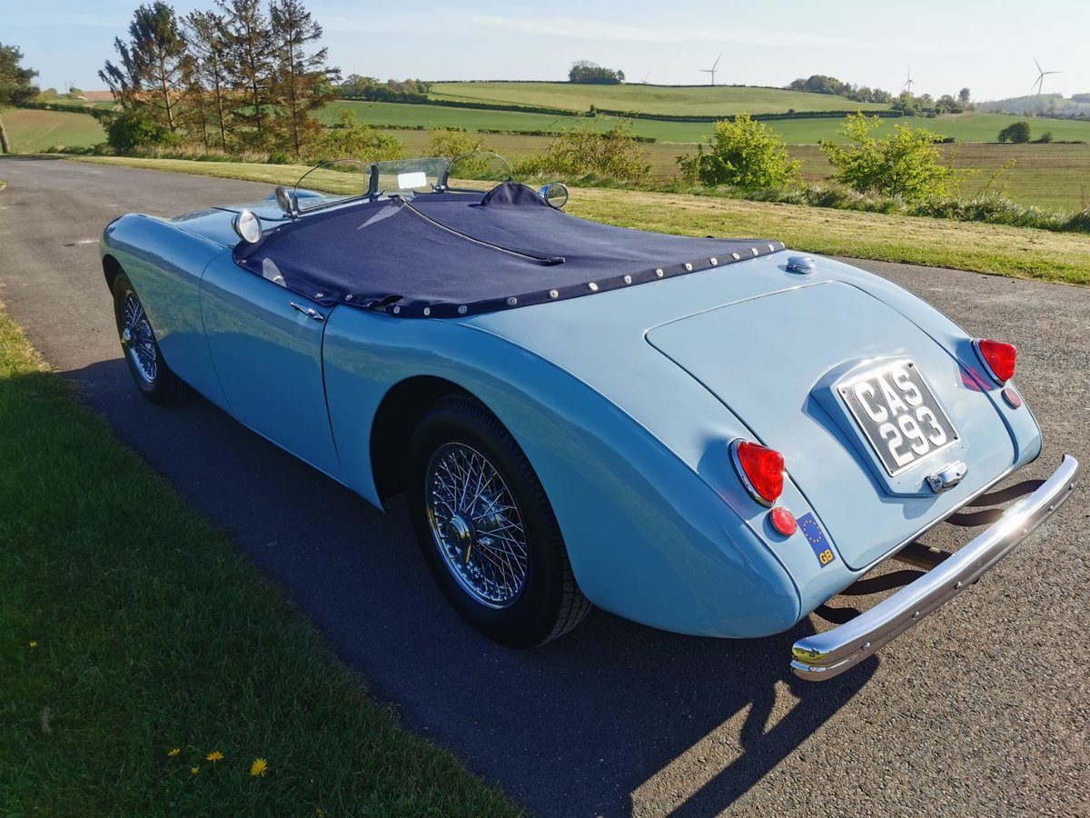 """1954 Swallow Doretti Manual O/D """"fast road""""  For Sale (picture 3 of 6)"""