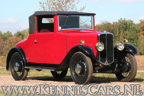 Swift 1931 5P - 10hp Convertible Coupe For Sale (picture 1 of 6)