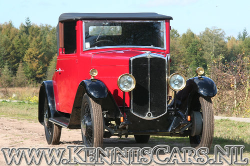 Swift 1931 5P - 10hp Convertible Coupe For Sale (picture 2 of 6)