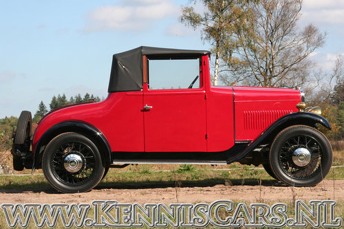 Swift 1931 5P - 10hp Convertible Coupe For Sale (picture 3 of 6)