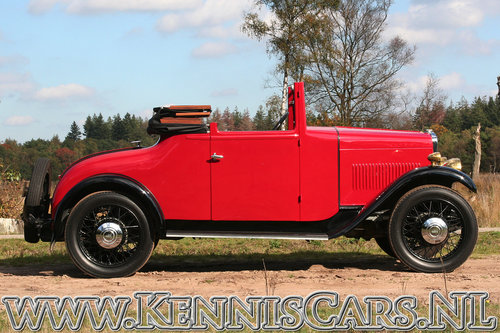 Swift 1931 5P - 10hp Convertible Coupe For Sale (picture 4 of 6)