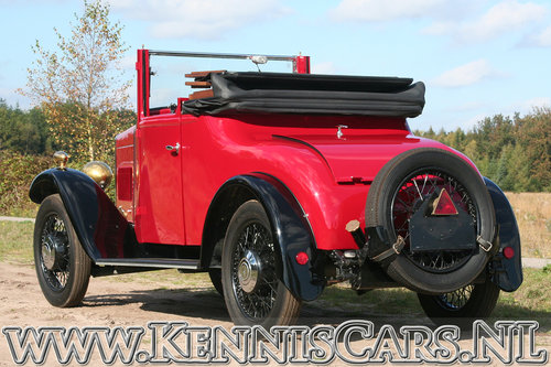 Swift 1931 5P - 10hp Convertible Coupe For Sale (picture 5 of 6)