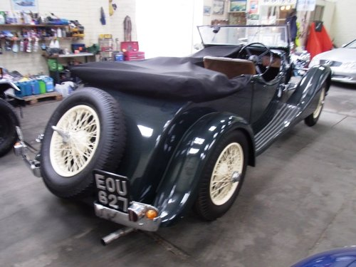 1936 Talbot 110 VDP Open Tourer  (picture 4 of 6)