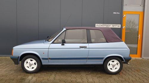1984 Samba 1.4 Cabriolet Unique Condition For Sale (picture 2 of 6)