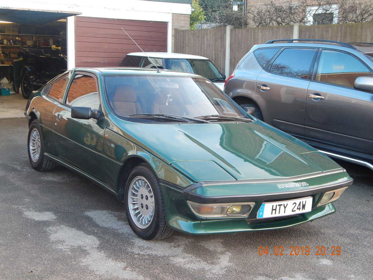 1983 Talbot Matra Murena 2.2 SOLD (picture 1 of 6)