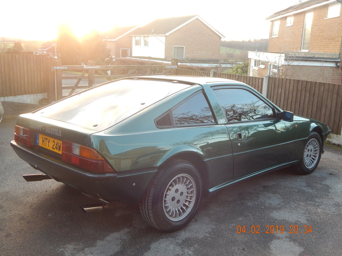 1983 Talbot Matra Murena 2.2 SOLD (picture 3 of 6)