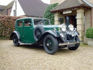 1933 Talbot AW75 Sports Saloon Coachwork by Darracq For Sale by Auction